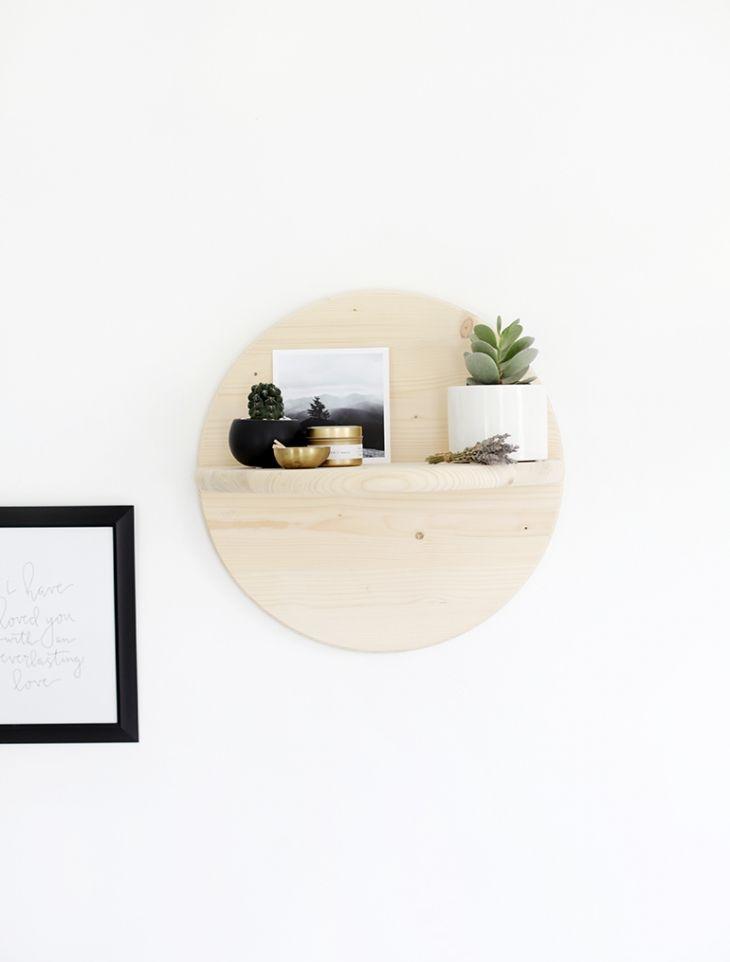 DIY Circle Shelf » The Merrythought