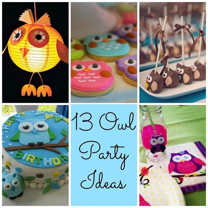 Whooo loves owls? Everyone! Check out these 13 outstanding Owl Party ideas!
