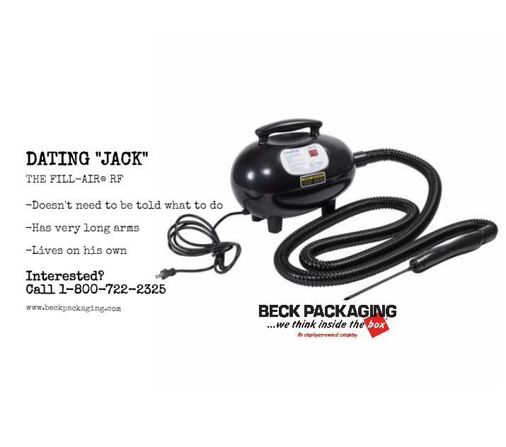 Jack doesn't need a manual to know what to do. You give him orders and he will get right to work. His very long arms become extremely helpful in the work force. Call #BeckPackaging 1-800-722-2325 to see if Jack can solve your business problems.   #BeckSolutions #MachineMatchmakers #SealedAir #Packaging #Machine  http://www.beckpackaging.com/