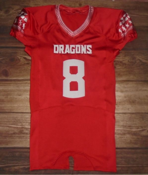 7137e0ea02e Swartz Creek Dragons Football custom jerseys created at Johnny Mac's  Sporting Goods in Rochester Hills, MI! Create your own custom uniforms at  ...
