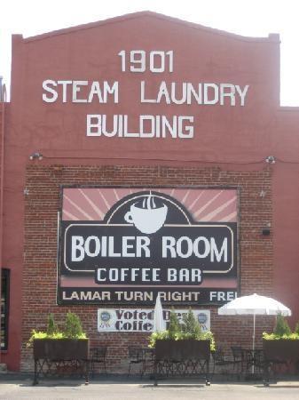 Boiler Room Coffee House Sherman Tx