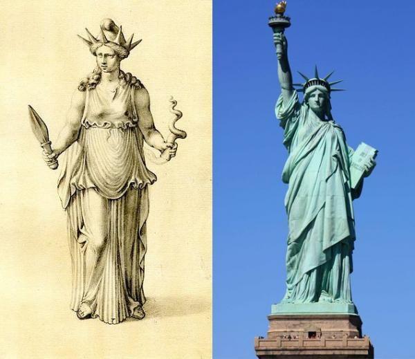 Статуя Свободы – кого изваял скульптор-масон