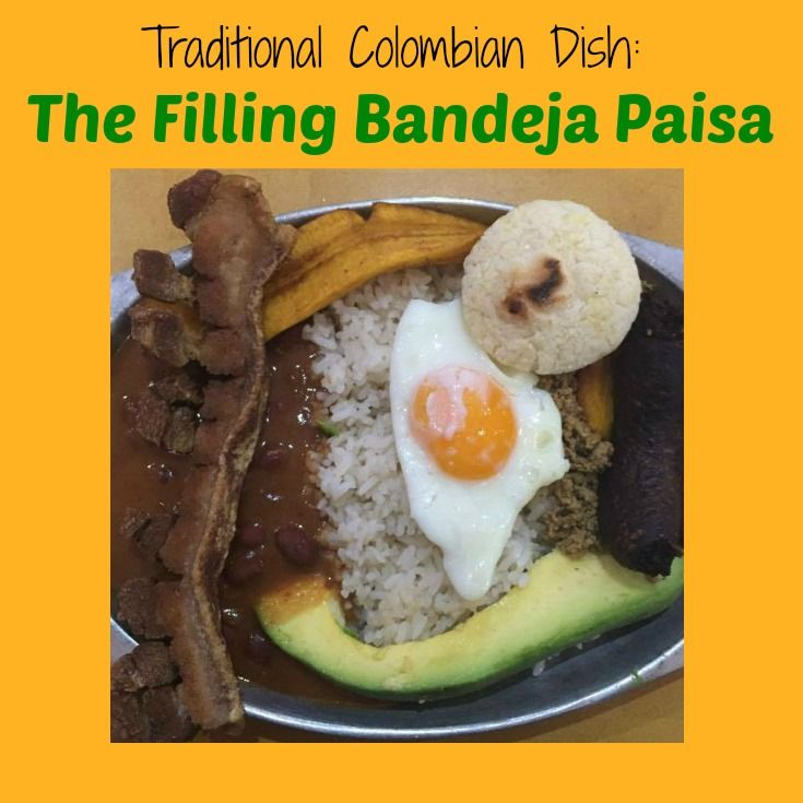 This is one of the Colombian dishes you should try while visiting Colombia.