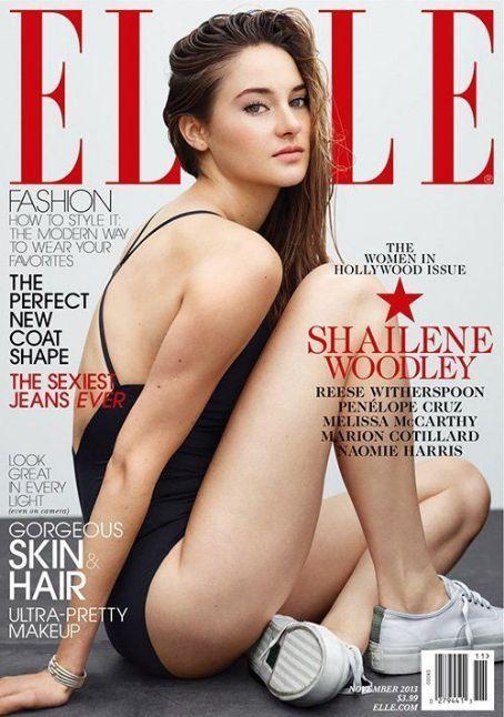 Shailene Woodley - Elle Magazine Cover [United States] (3 November 2013)