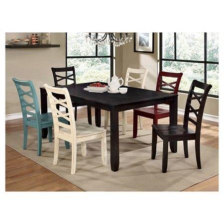 www.target.com p 7-piece-transitional-dining-set-espresso - A-51115265