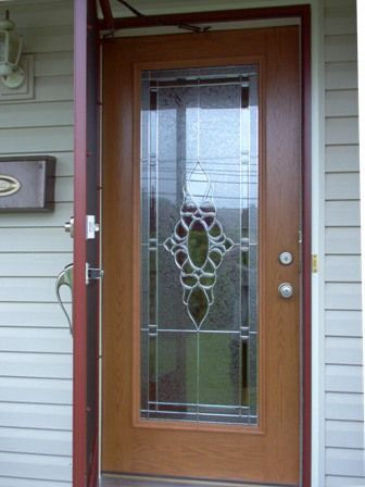Lovely Entry Door with Screen and Glass