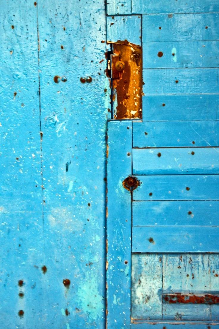 Bastia, old Door