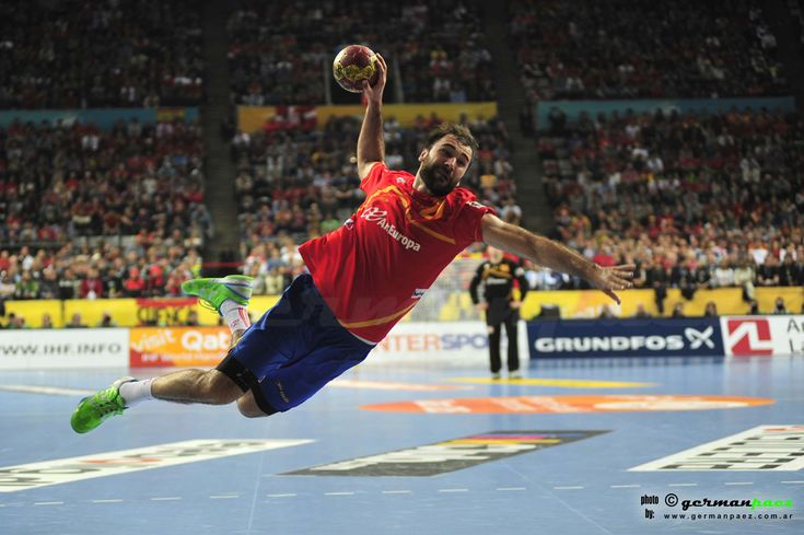 Fotos del dia. #fotografia #photography #handball #balonmano ESPAÑA - DINAMARCA Final 23er. Campeonato del Mundo de Balonmano Masculino - 27ENE2013 - Palau Sant Jordi - Barcelona - España