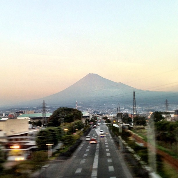 久しぶりに富士山見えた - @Terri Suda- #webstagram