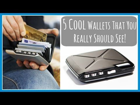 5 Cool Wallets That You Really Should See | New Inventions and Gadgets 2016 – Minds Eye Design