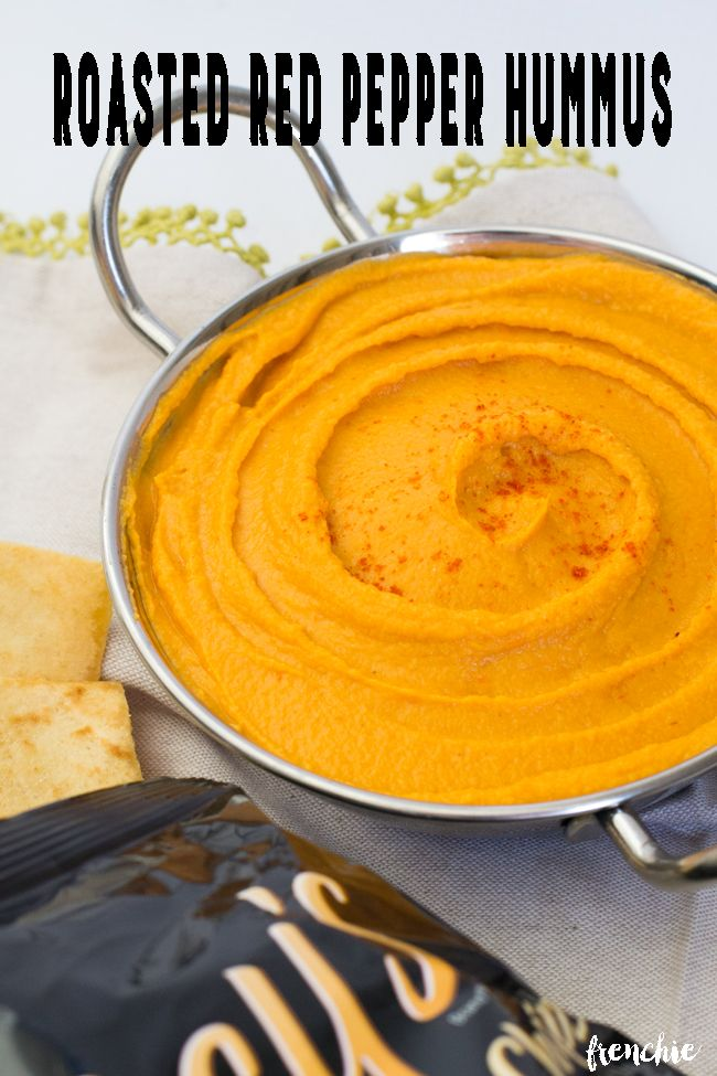 Roasted red pepper hummus recipe the o 39 jays roasted for Roasted red pepper hummus recipes