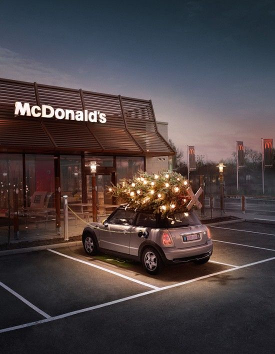 MCD Mac Donalds Mini Christmas