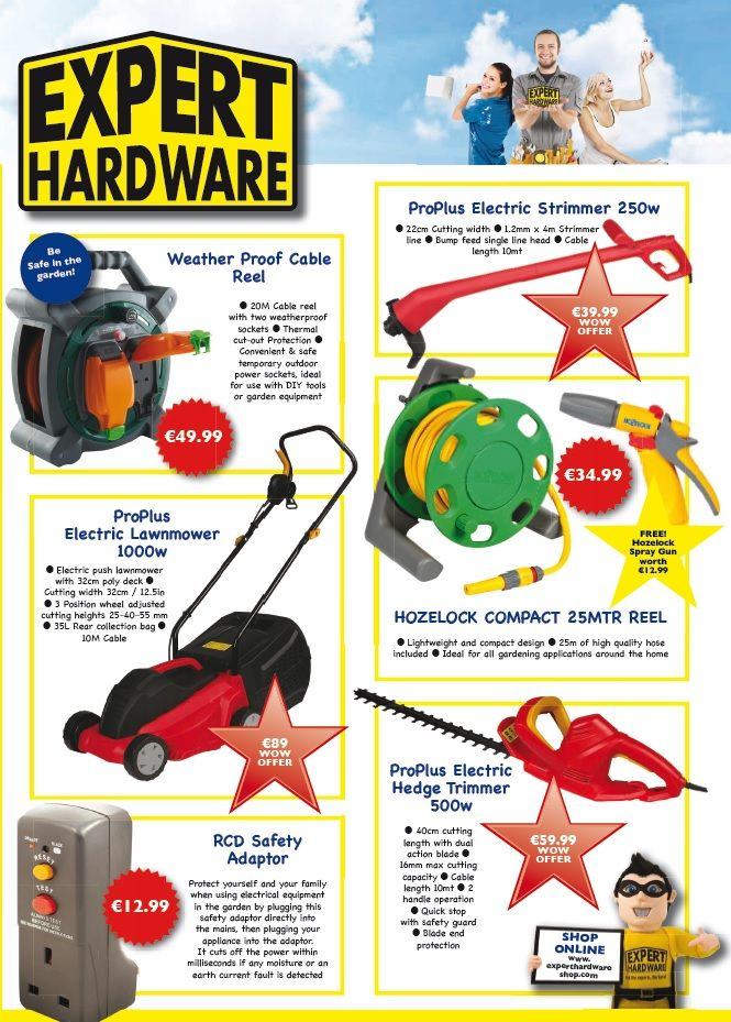 What a day! It feels like we're in Turkey already ay   Get out and enjoy it with these gardening essentials found in your local Expert Hardware and online...