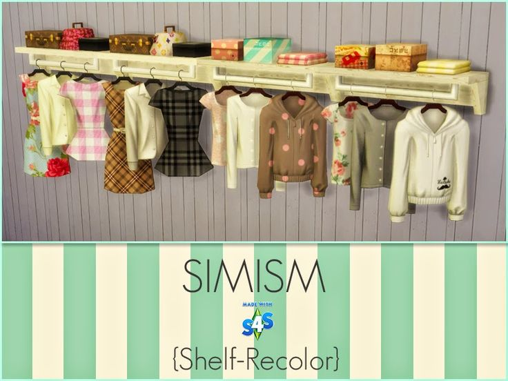 sims 4 clothing rack recolors - Google Search | Sims 4 ...