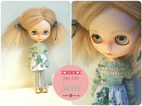 Bekijk dit items in mijn Etsy shop https://www.etsy.com/nl/listing/574422630/lieve-pastels-voor-blythe-dolls