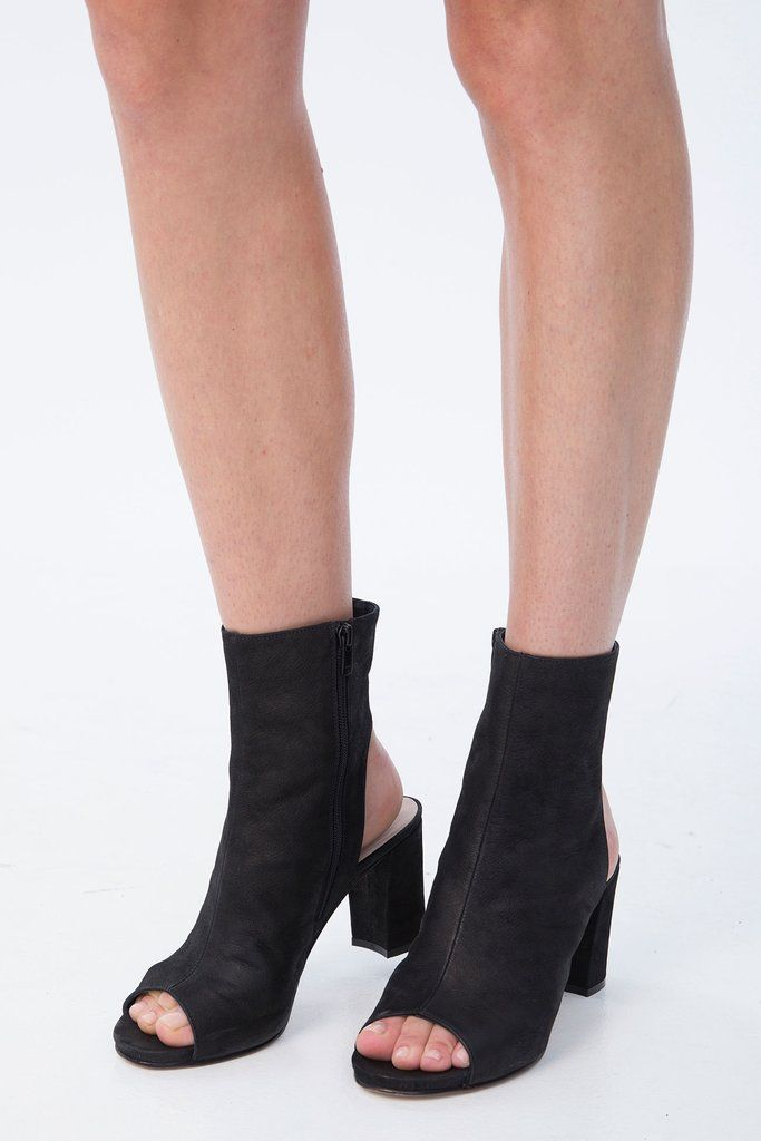 Shop Ankle Boots Boots Black Leather XpqwOZq