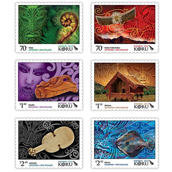 Matariki 2013 - Koru   New Zealand Post Stamps