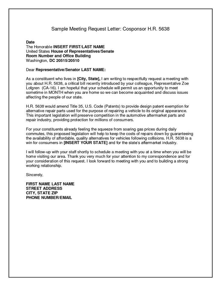 letter sample business format request meeting letters letterhead - grant proposal letter