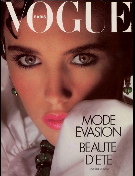 Vogue Paris May 1984