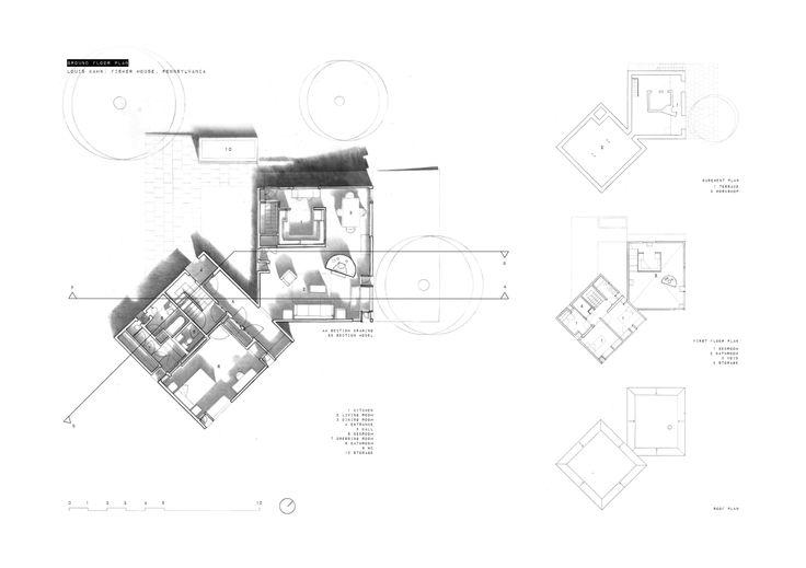 Fisher House / Louis Kahn  (Peter Byrne)