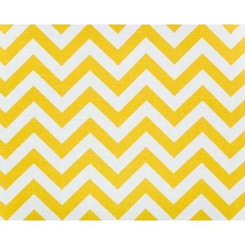 Curtain Panels Pair with Lining | Zigzag Fabric Print