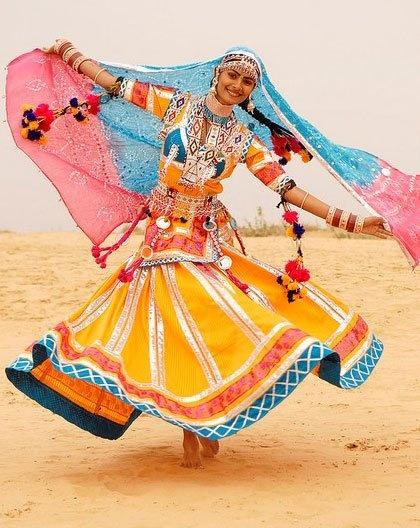 colors. dance. desert joy. ...of unknown ethnic origin.