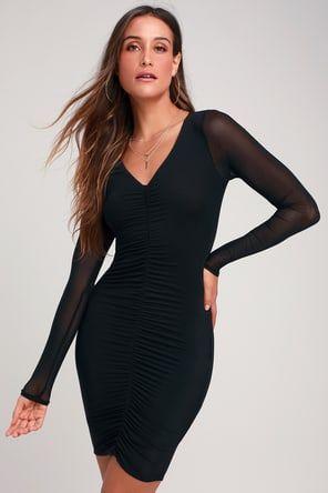 70cbb29b218 Sexy Black Midi Dress - Backless Dress - Bodycon Dress