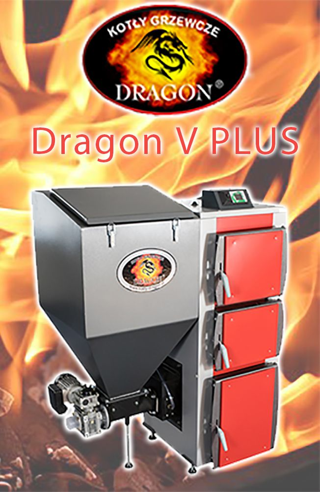 5 Piec Kociol Co Cwu Z Podajnikiem Slimakowym 19kw Dragon Kitchen Appliances Popcorn Maker