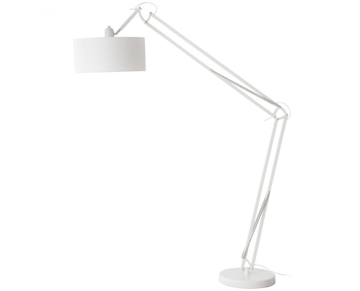 Milano Floor Lamp White - Homeware | Weylandts South Africa