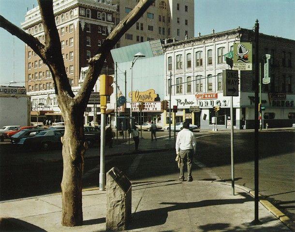 Stephen Shore  El Paso Street, El Paso, Texas  July 5, 1975
