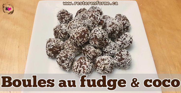 Boules de fudge santé - Rester en forme avec Sandra - Beachbody francais
