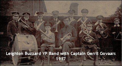Leighton Buzzard Salvation Army - YP Band 1917