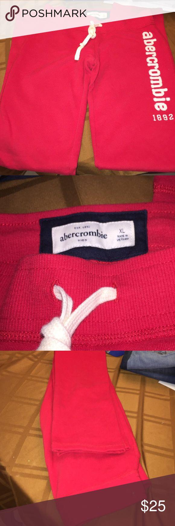 Abercrombie kids girl sweatpants Brand new Abercrombie kids girls sweatpants size XL abercrombie kids Bottoms Sweatpants & Joggers