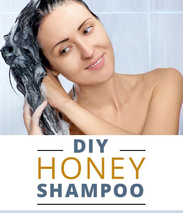 DIY Honey Shampoo #DIY #shampoo