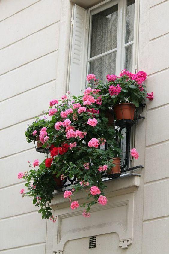 17 meilleures id es propos de jardini res aux fen tres sur pinterest planteurs de fen tre et. Black Bedroom Furniture Sets. Home Design Ideas