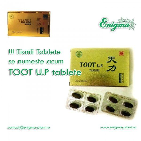Tianli Ultra Power - tablete acum: Toot Up