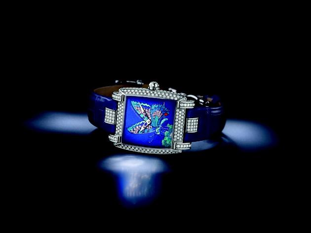 ULYSSE NARDIN Caprice Butterfly   http://preziosamagazine.com/baselworld-2013-unanteprima-degli-orologi-in-arrivo-molti-i-modelli-femminili/