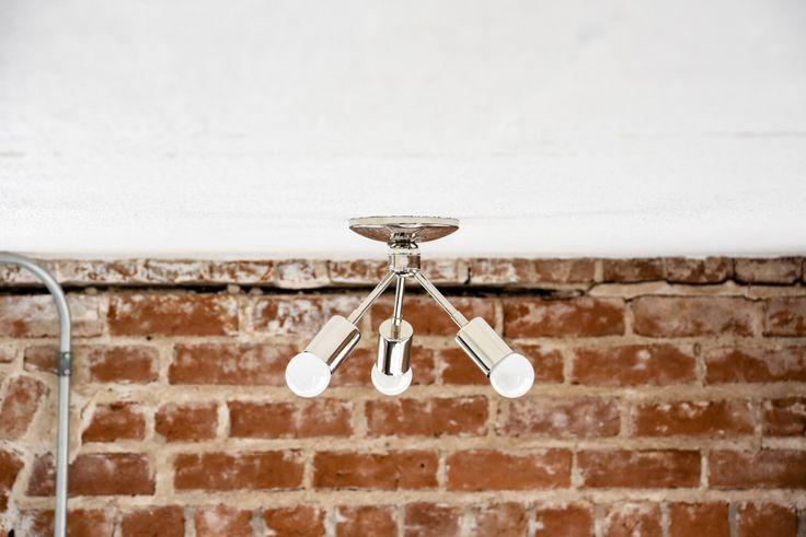 Moderne kroonluchter chroom gepolijst nikkel 3 lamp schuine Sputnik Mid Century Semi Flush Edison industriële licht Modern Vintage UL Listed door IlluminateVintage op Etsy https://www.etsy.com/nl/listing/243988512/moderne-kroonluchter-chroom-gepolijst