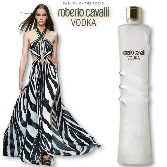 Roberto Cavalli Vodka, Fashion on the Rocks.