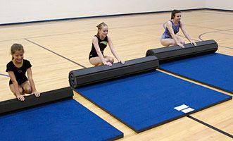 FLEXI-ROLL® Home Mats - gymnastics cheerleading mat mats - Tumbl Trak - Gymnastics, Cheerleading and Dance Equipment