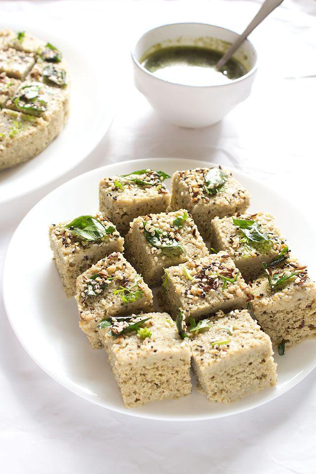 moong dal dhokla: green moong dal dhokla recipe