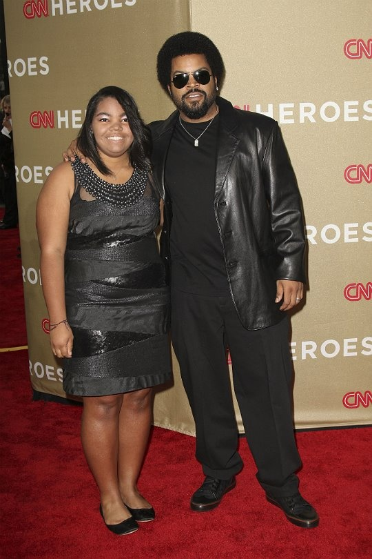 Ice Cube and his daughter Kareema Jackson,17
