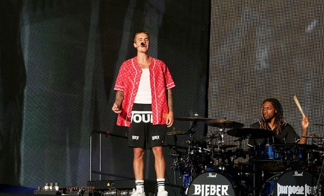 Why Justin Bieber worked with David Hasselhoff