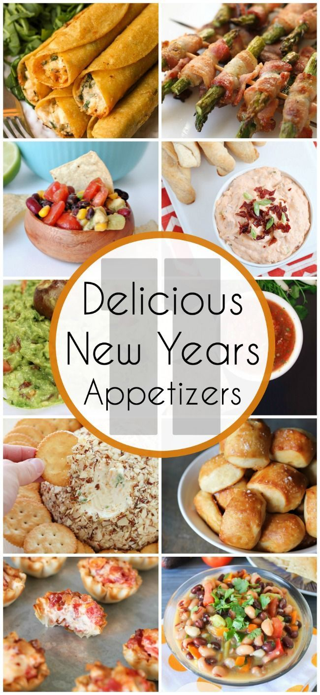 11 Delicious New Years Appetizers - www.classyclutter.net