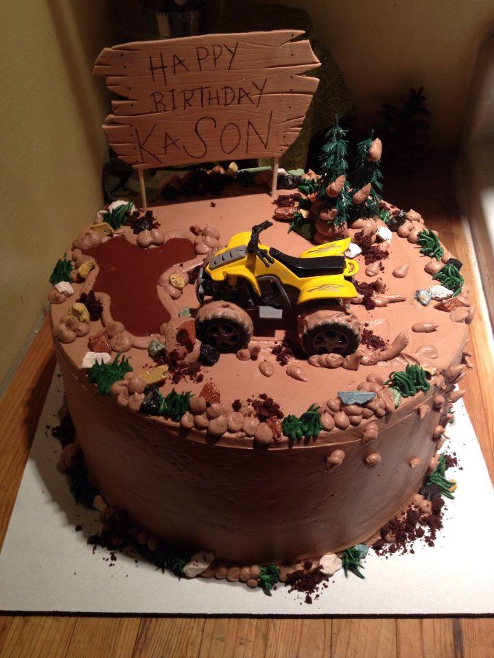 25 Best Ideas About 4 Wheeler Cake On Pinterest Monster