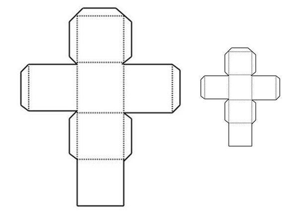 Molde Para Imprimir De Laco Lonita De Cilicone: Cubo De 10cm Para Armar Pdf - Buscar Con Google