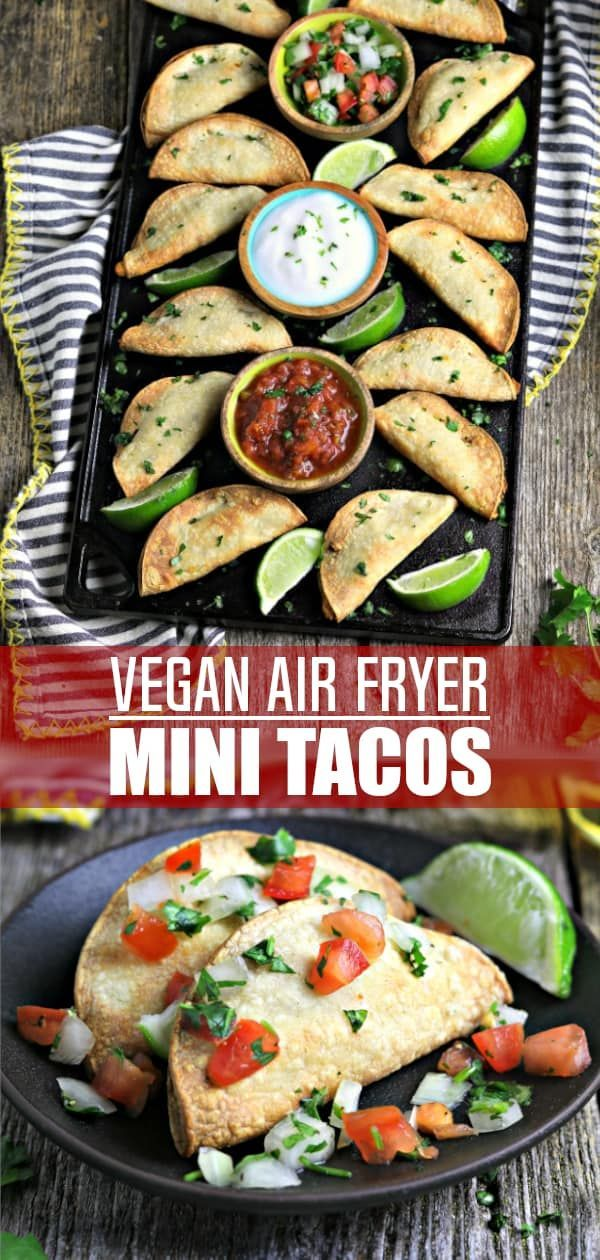 Air Fryer Tacos Recipe Air fryer recipes vegan, Food