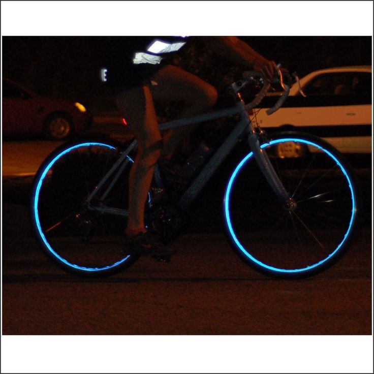 Best Bicycle Buys: Fiks:Reflective Wheel Stripes Are Designed Specifically  To Fit Modern Bicycle Wheels By Easily Sticking Onto The Non Braking  Surface Of ...
