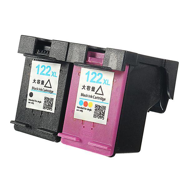 Mengxiang 122xl Cartucho De Tinta Para Impresora Hp Deskjet 1000