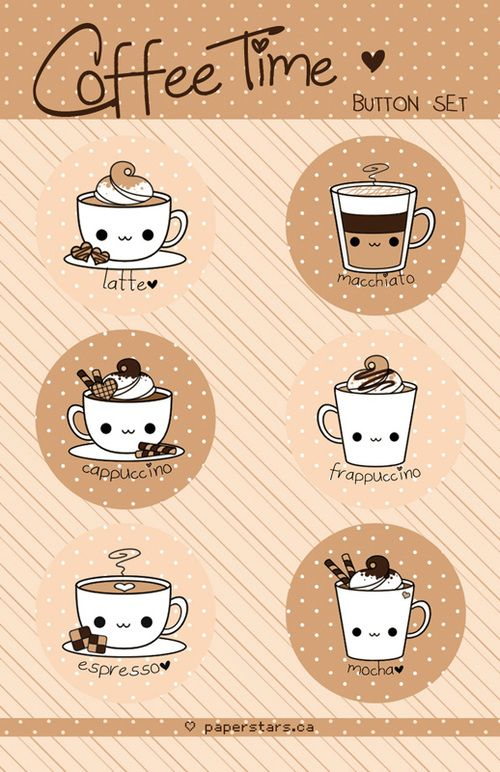 Coffee Time Magnet Set